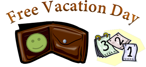 Free Vacation Day Graphic