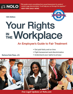 Nolo Your Rights in the Workplace Book